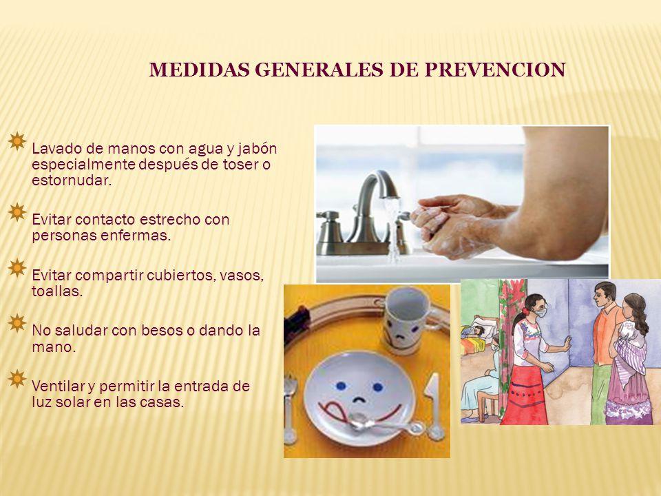 MEDIDAS GENERALES DE PREVENCION