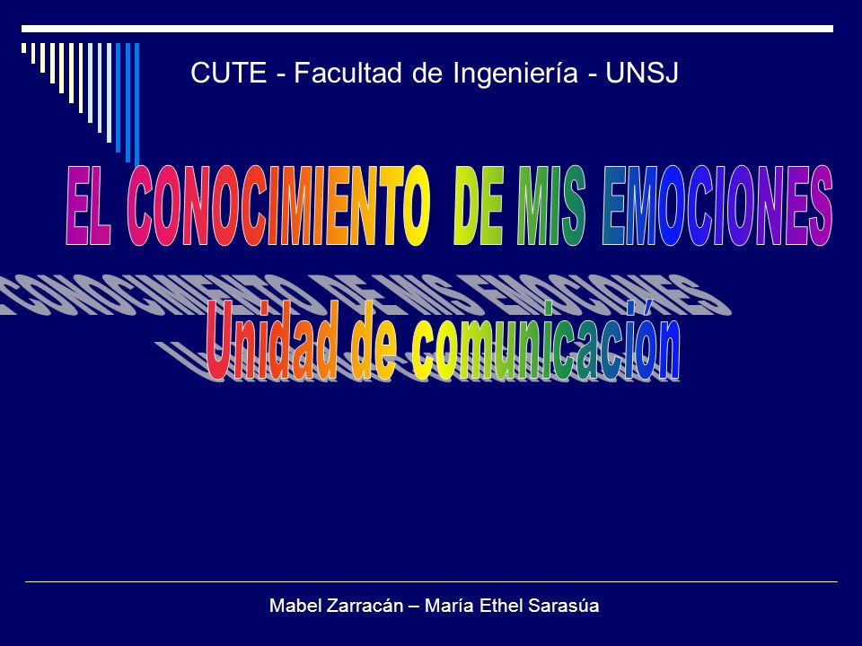 CUTE - Facultad de Ingeniería - UNSJ
