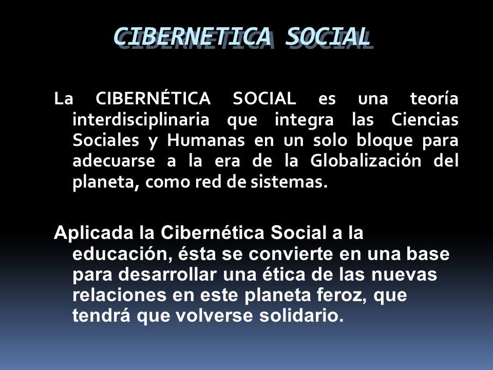CIBERNETICA SOCIAL