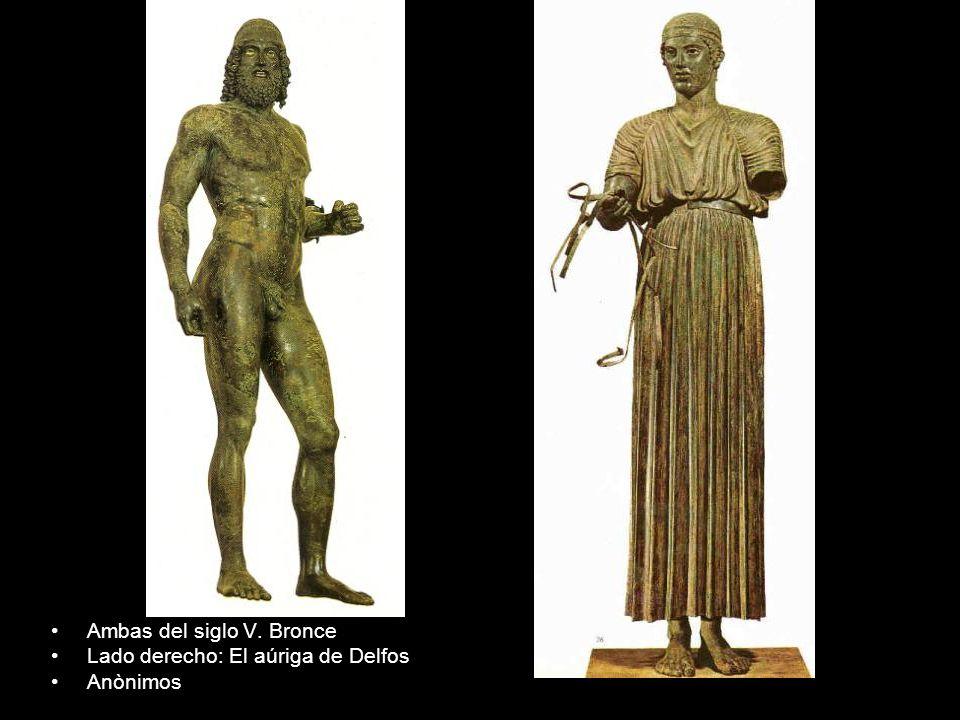 Ambas del siglo V. Bronce