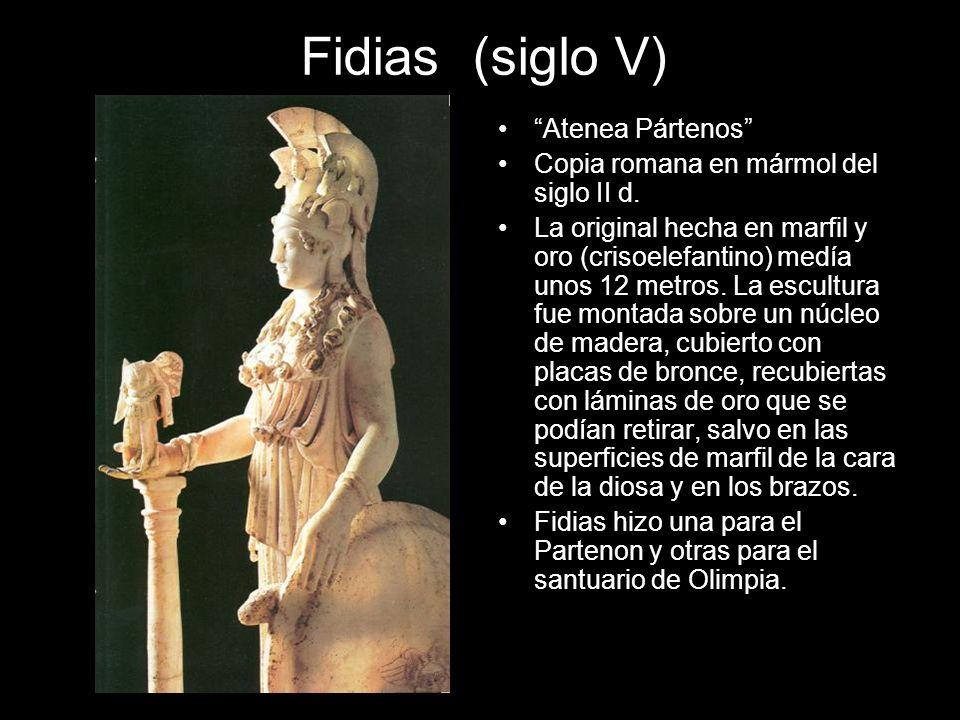Fidias (siglo V) Atenea Pártenos