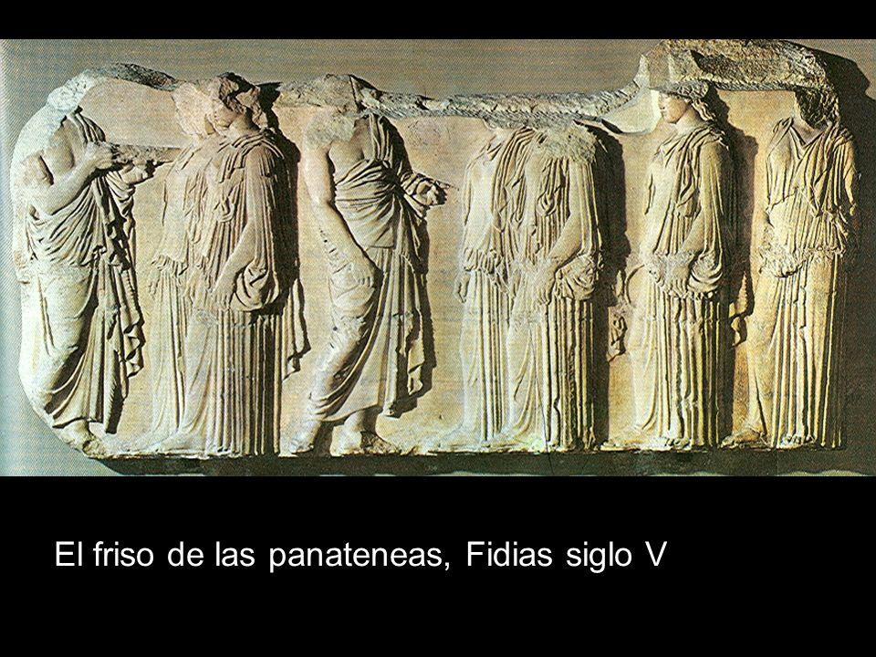 El friso de las panateneas, Fidias siglo V
