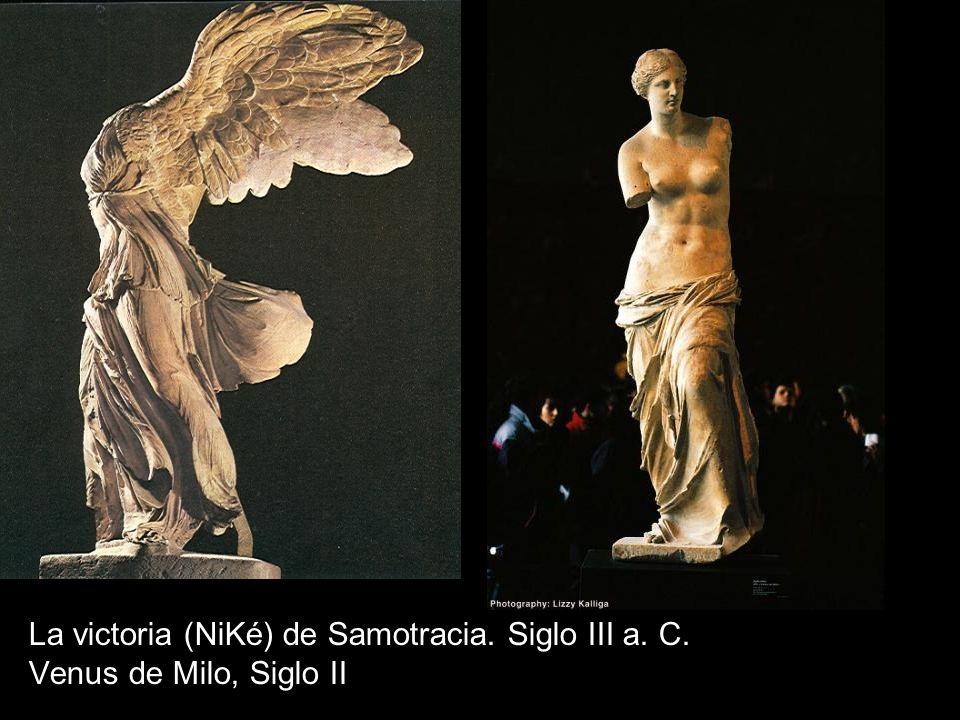 La victoria (NiKé) de Samotracia. Siglo III a. C.