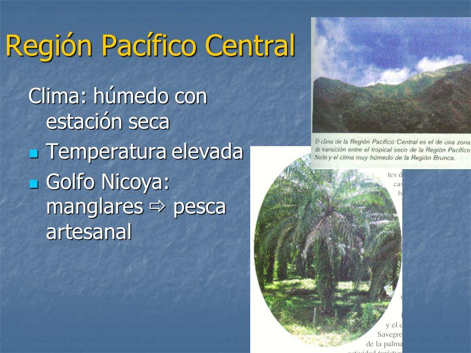 Región Pacífico Central