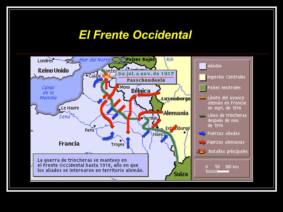 El Frente Occidental