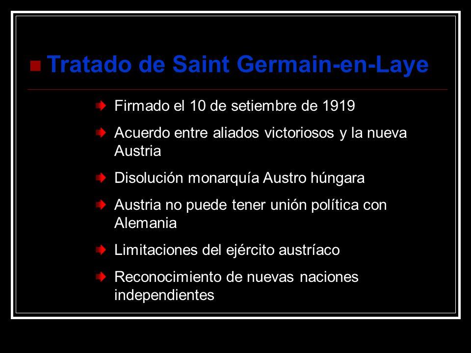 Tratado de Saint Germain-en-Laye