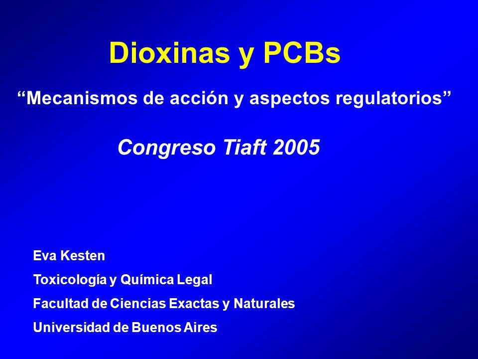 Dioxinas y PCBs Congreso Tiaft 2005
