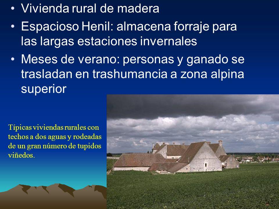 Vivienda rural de madera