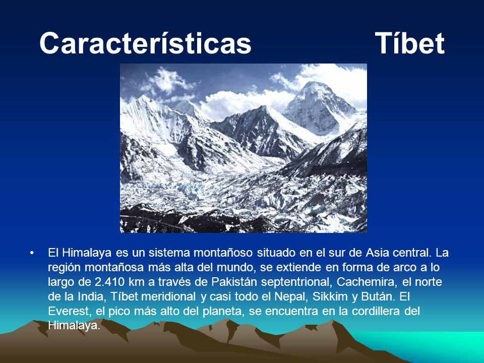 Características Tíbet