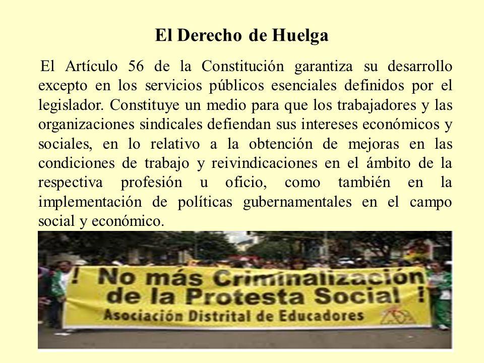 El Derecho de Huelga