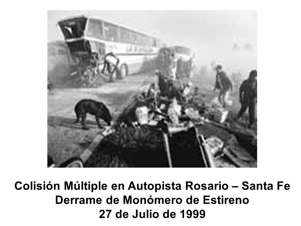 Colisión Múltiple en Autopista Rosario – Santa Fe