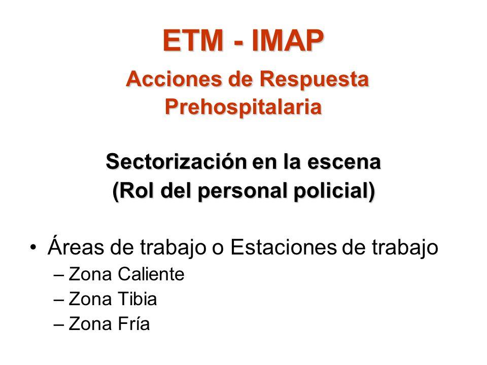 ETM - IMAP Acciones de Respuesta Prehospitalaria