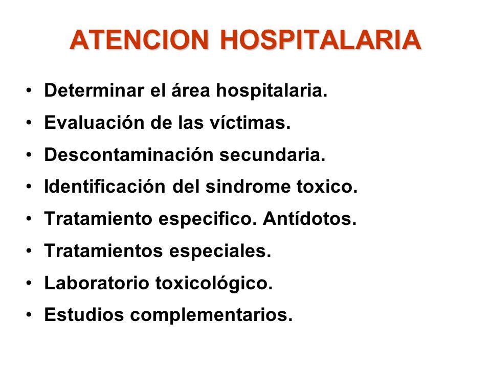 ATENCION HOSPITALARIA