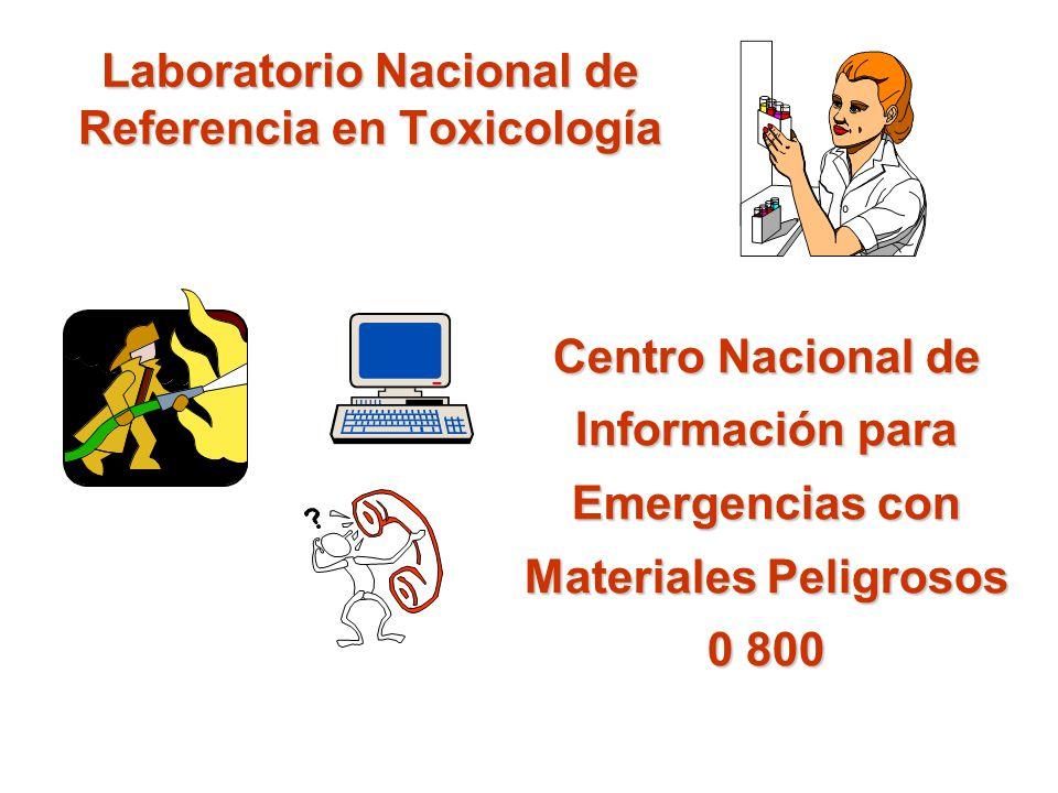 Laboratorio Nacional de Referencia en Toxicología