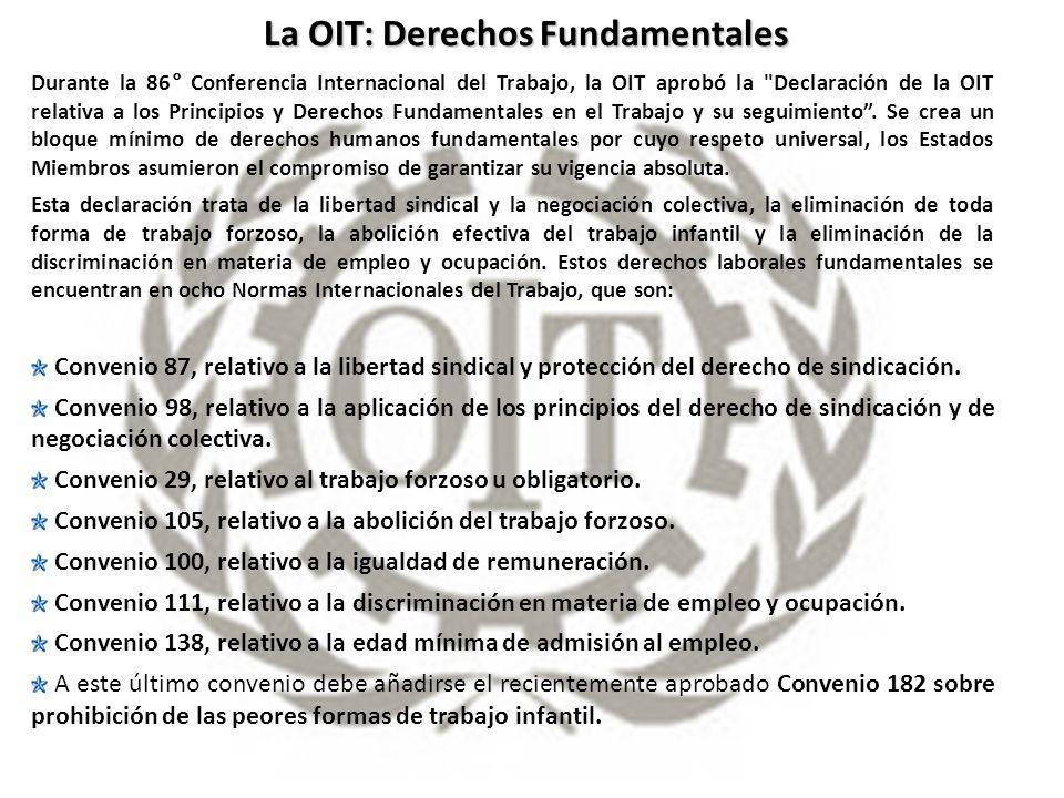 La OIT: Derechos Fundamentales
