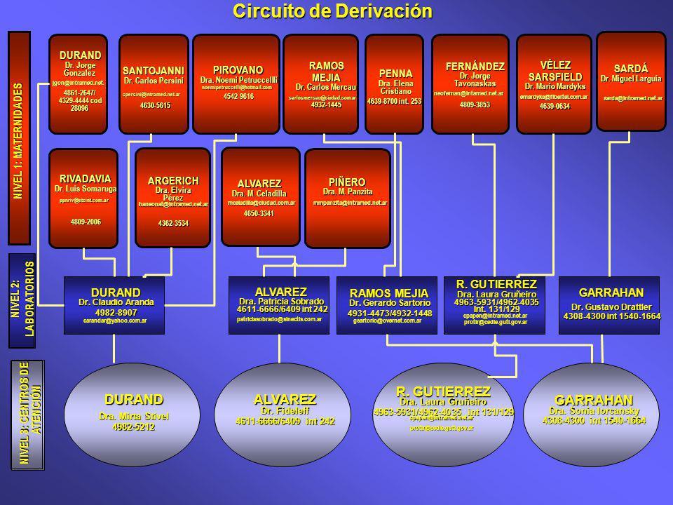 Circuito de Derivación Dra. Noemi Petruccellli