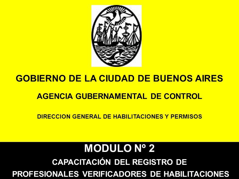 MODULO Nº 2 GOBIERNO DE LA CIUDAD DE BUENOS AIRES