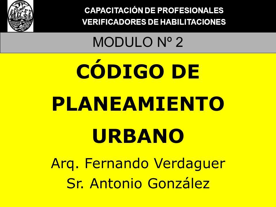 CÓDIGO DE PLANEAMIENTO URBANO