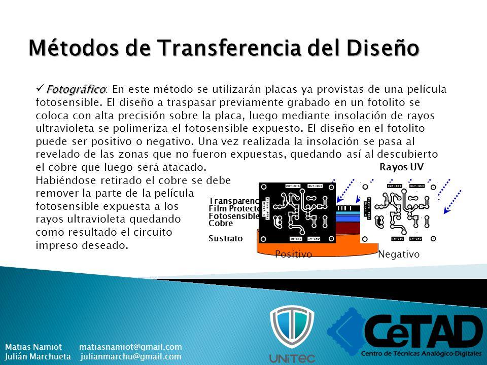 Métodos de Transferencia del Diseño