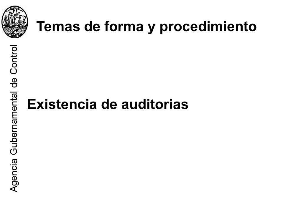 Temas de forma y procedimiento