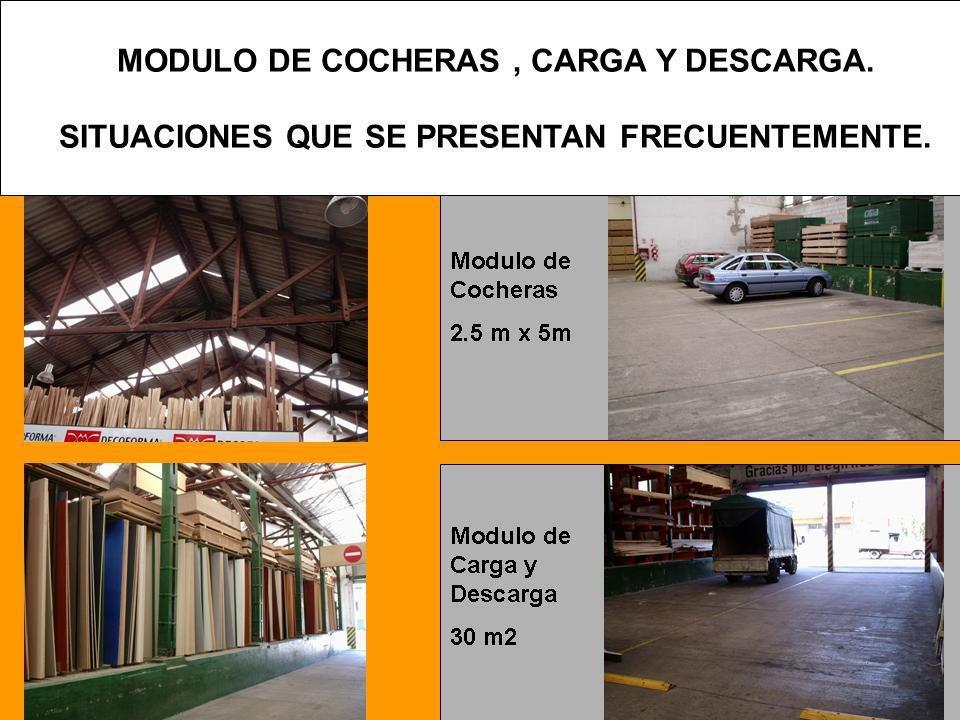 MODULO DE COCHERAS , CARGA Y DESCARGA.