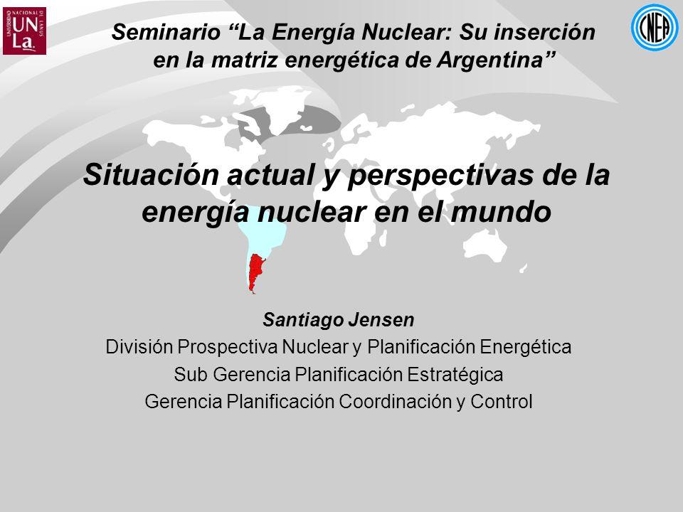 Situación actual y perspectivas de la energía nuclear en el mundo