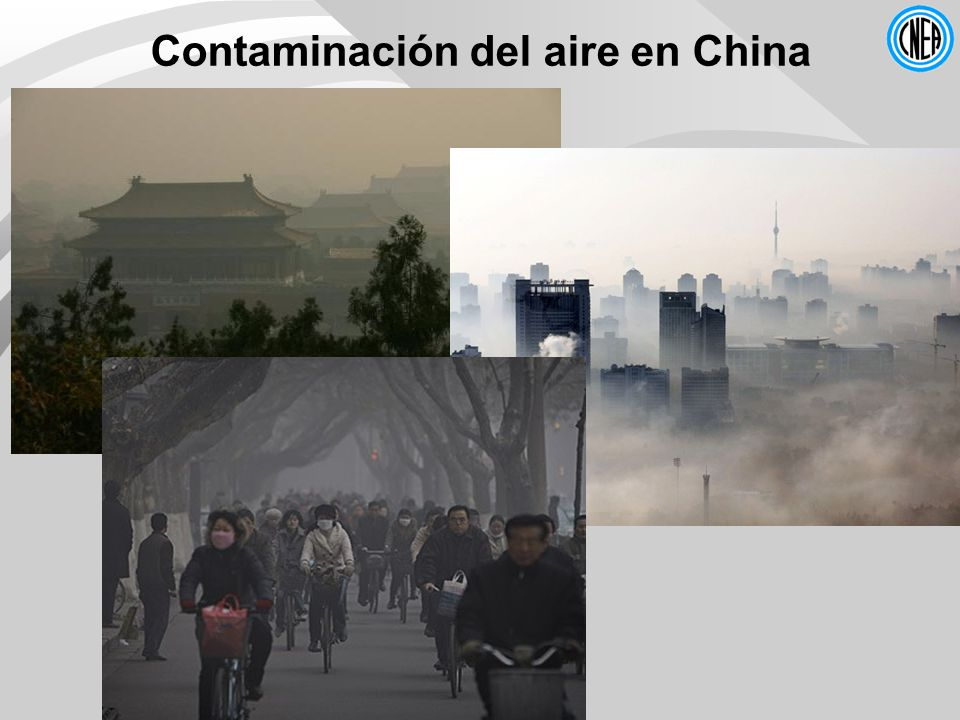 Contaminación del aire en China
