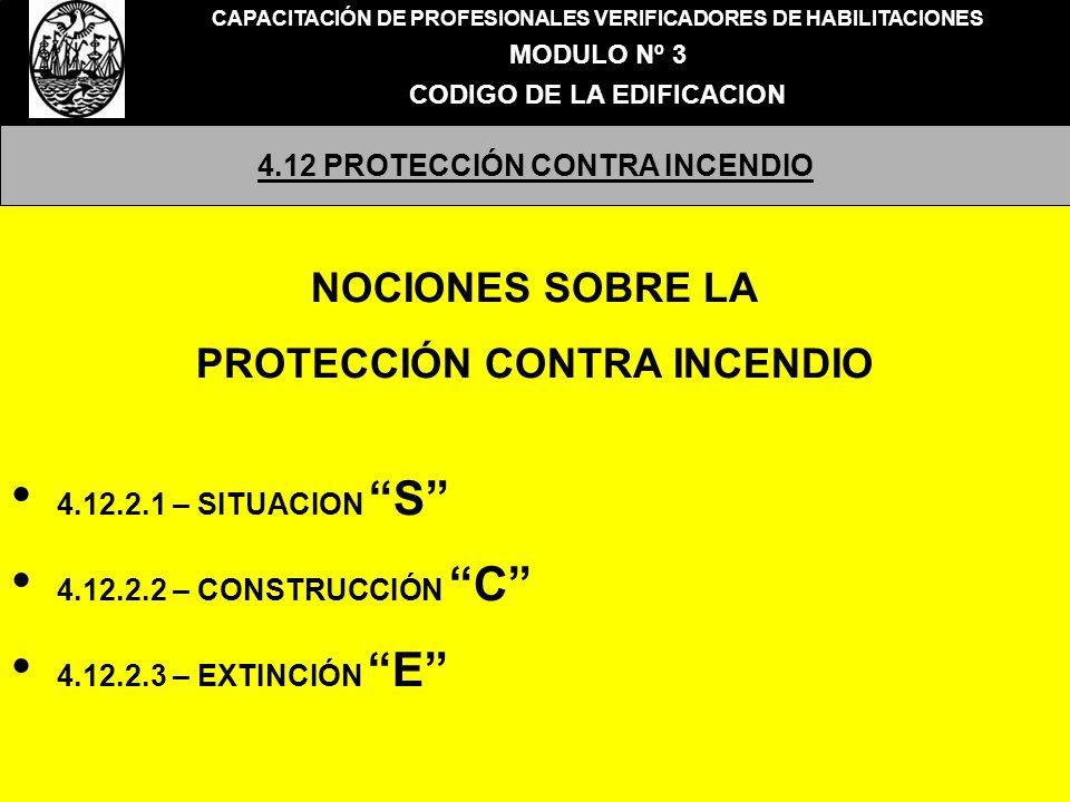 NOCIONES SOBRE LA PROTECCIÓN CONTRA INCENDIO