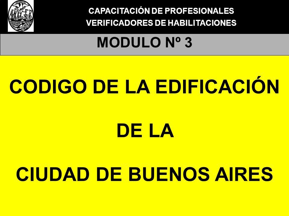 CODIGO DE LA EDIFICACIÓN DE LA CIUDAD DE BUENOS AIRES