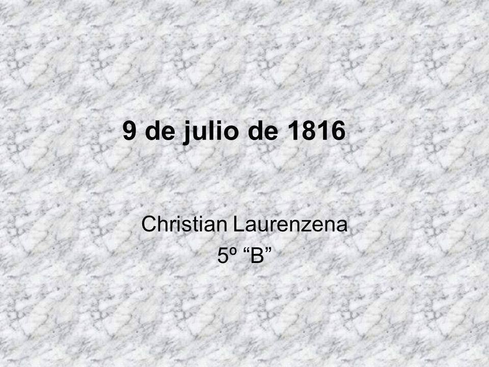 Christian Laurenzena 5º B