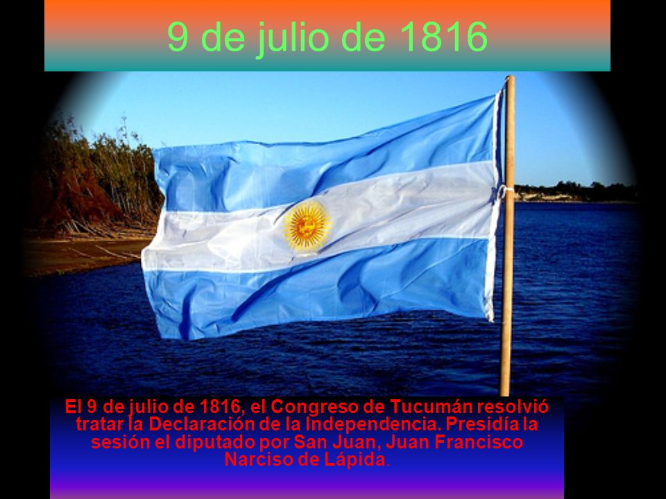 9 de julio de 1816