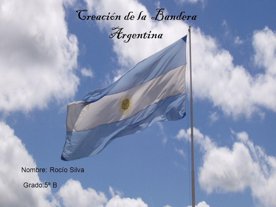 Creación de la Bandera Argentina