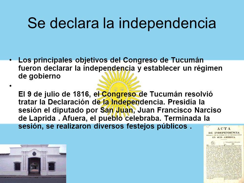 Se declara la independencia