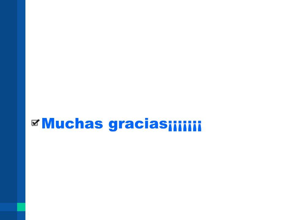 Muchas gracias¡¡¡¡¡¡¡