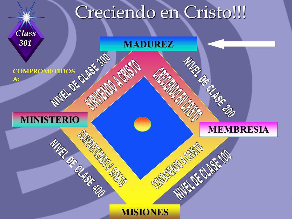 Creciendo en Cristo!!! MADUREZ MINISTERIO MEMBRESIA MISIONES