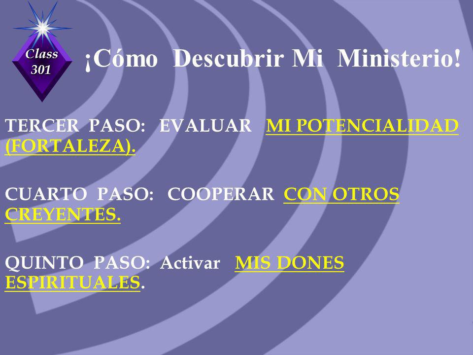 ¡Cómo Descubrir Mi Ministerio!