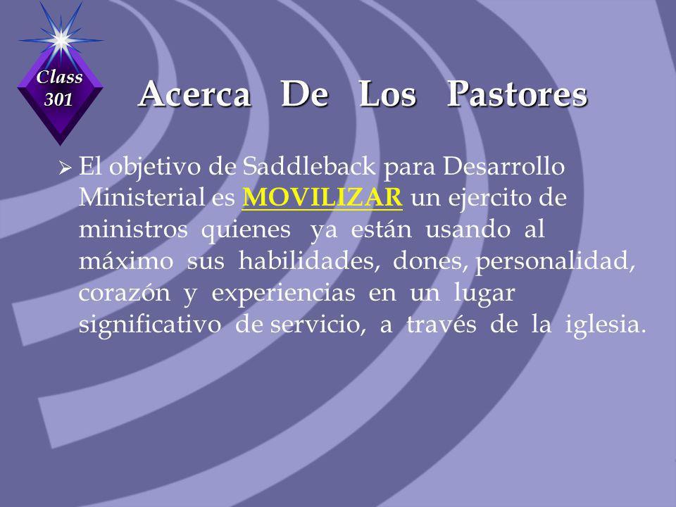 Acerca De Los Pastores