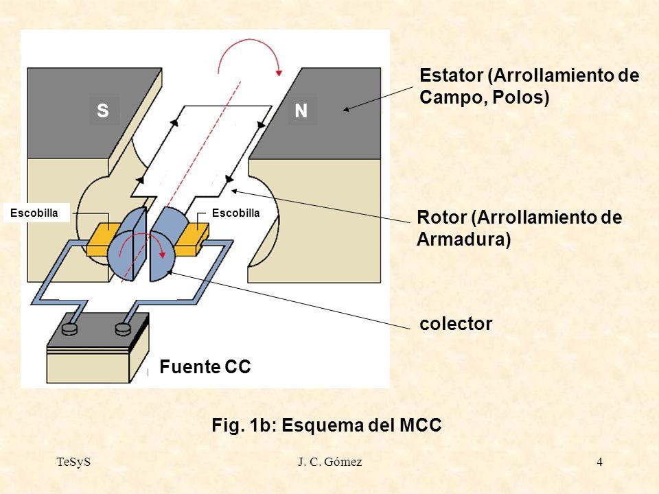Estator (Arrollamiento de Campo, Polos)