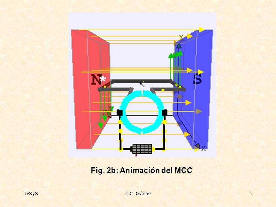 Fig. 2b: Animación del MCC