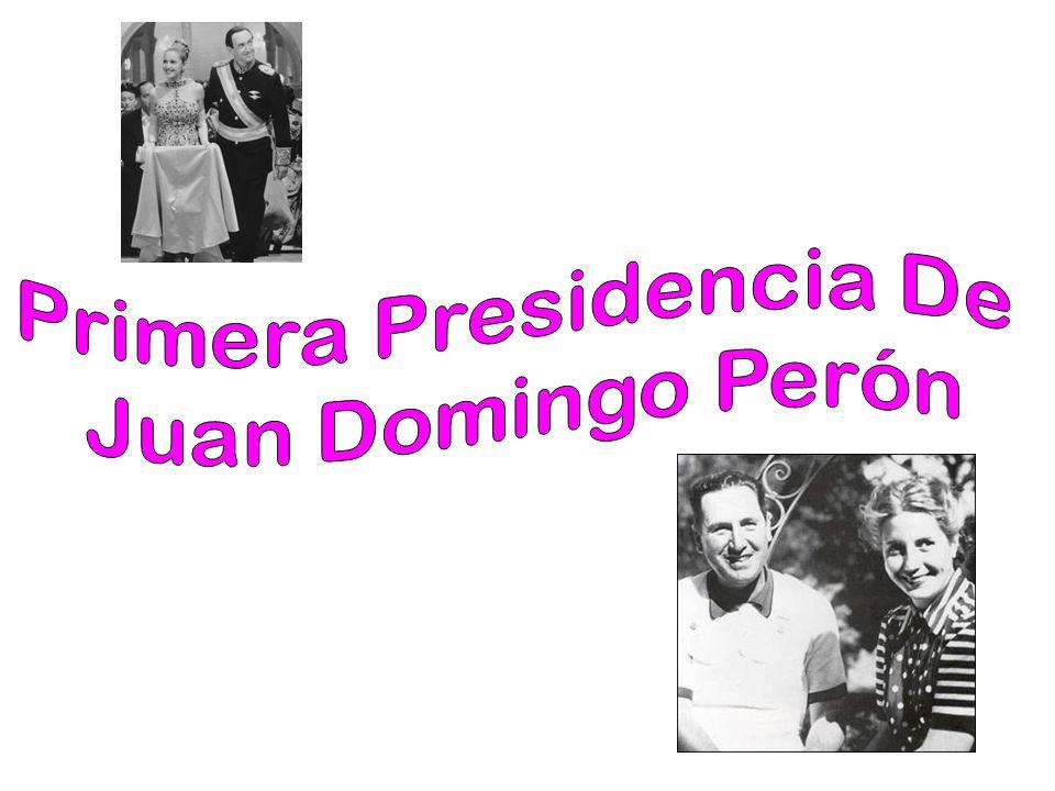 Primera Presidencia De