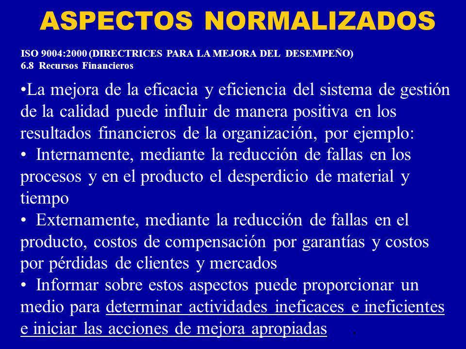 ASPECTOS NORMALIZADOS