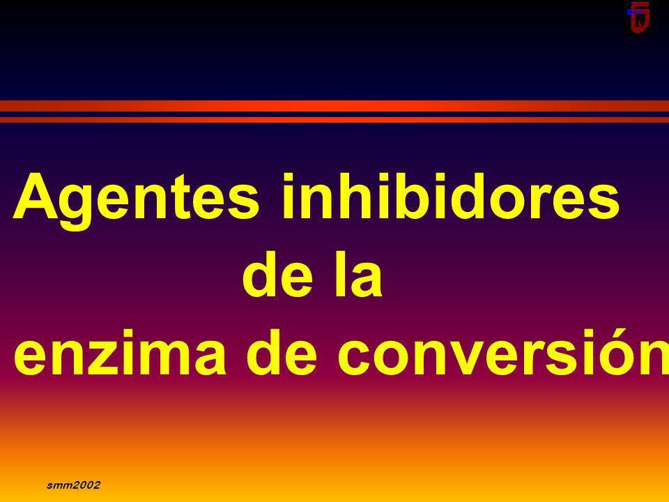 Agentes inhibidores de la enzima de conversión