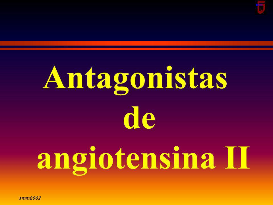 Antagonistas de angiotensina II