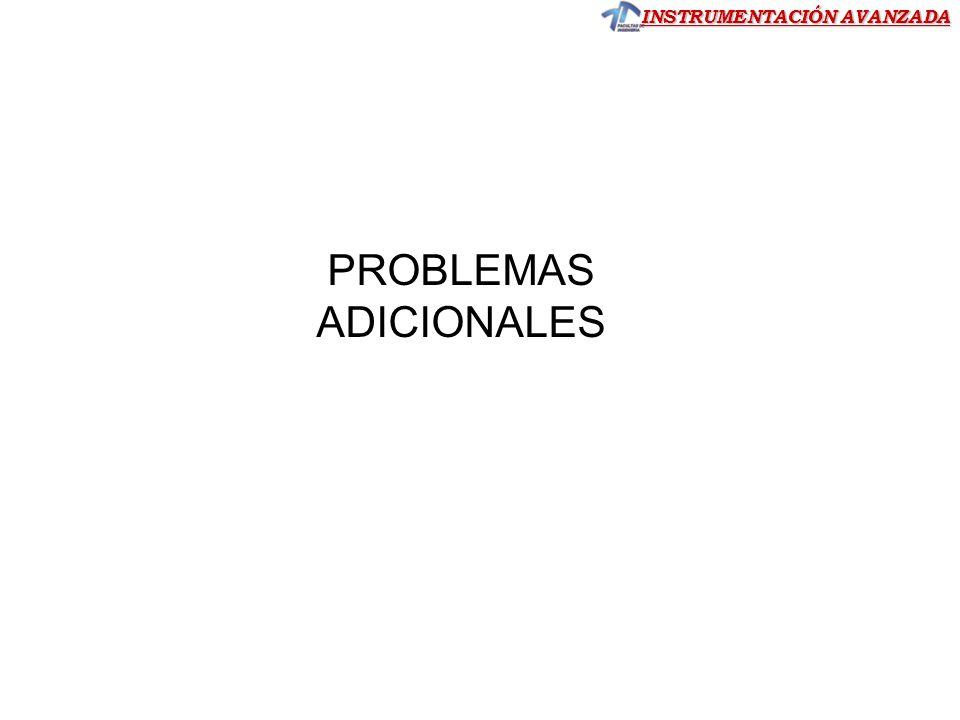 PROBLEMAS ADICIONALES