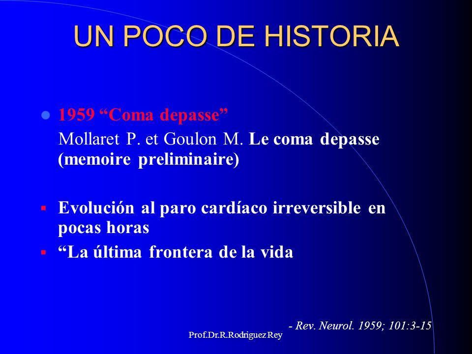 UN POCO DE HISTORIA 1959 Coma depasse