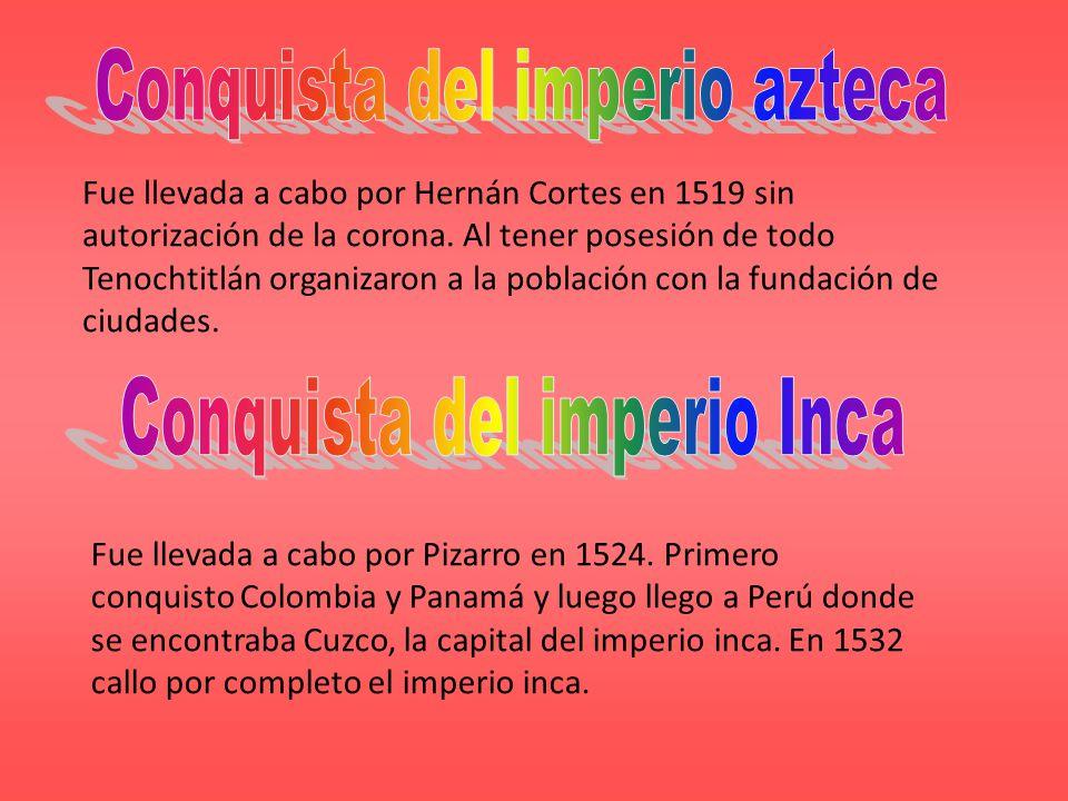 Conquista del imperio azteca
