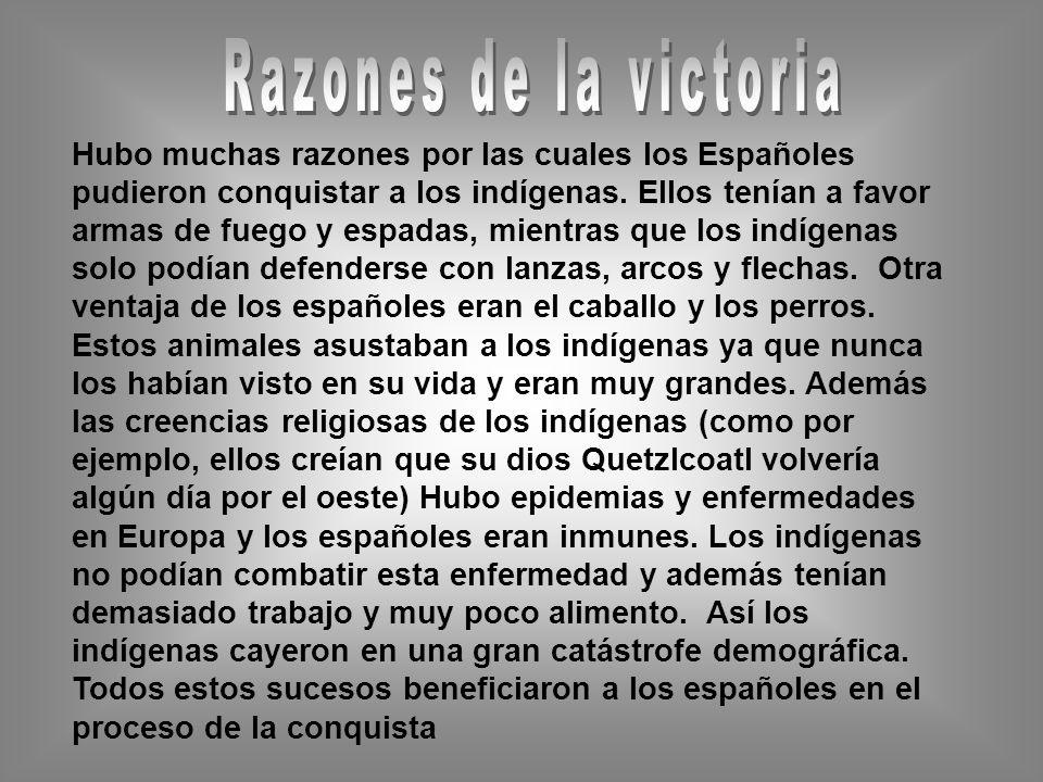 Razones de la victoria