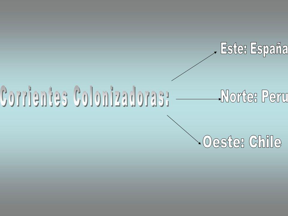 Corrientes Colonizadoras: