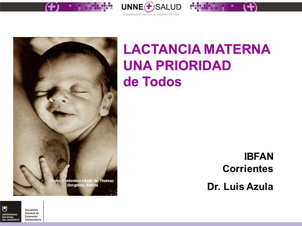 Foto: Contented infant, de Thomaz Bergman, Suecia