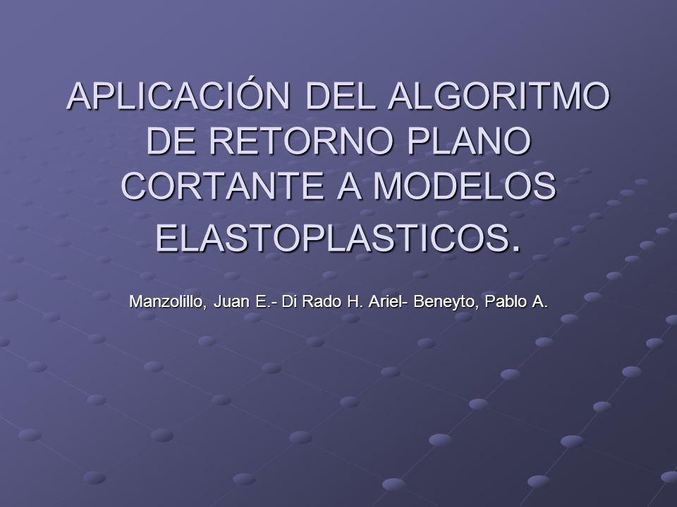 Manzolillo, Juan E.- Di Rado H. Ariel- Beneyto, Pablo A.